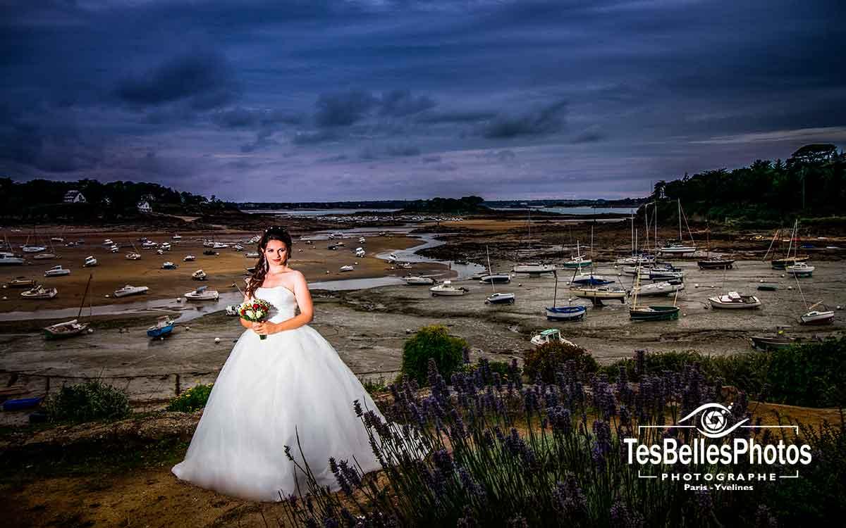 Retouche photo de mariage, Ille-et-Vilaine, Côtes-d'Armor, Morbihan, Finistère, photographe de mariage en Bretagne